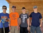 Boys on Service Trip